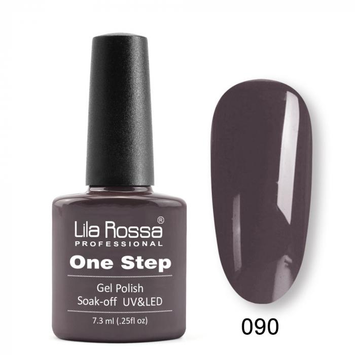 Oja semipermanenta Lila Rossa One Step 090 7.3 ml [0]