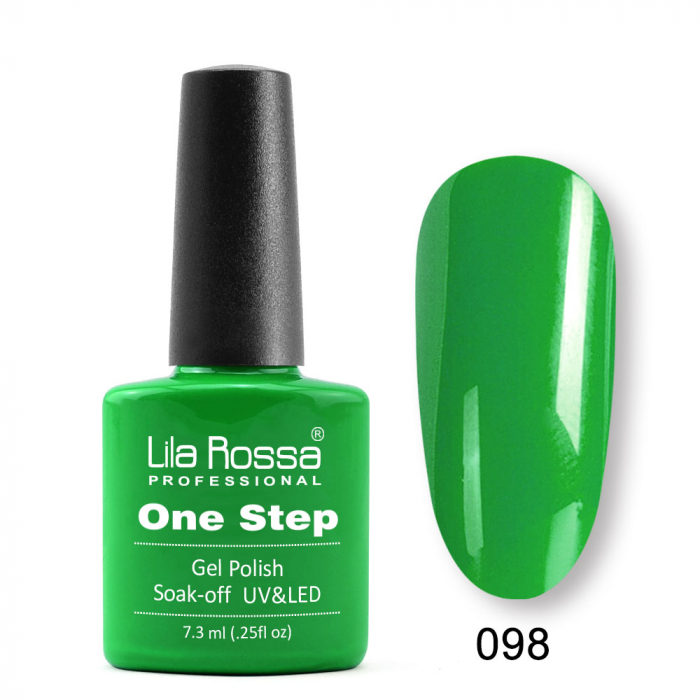 Oja semipermanenta Lila Rossa One Step 098 7.3 ml [0]