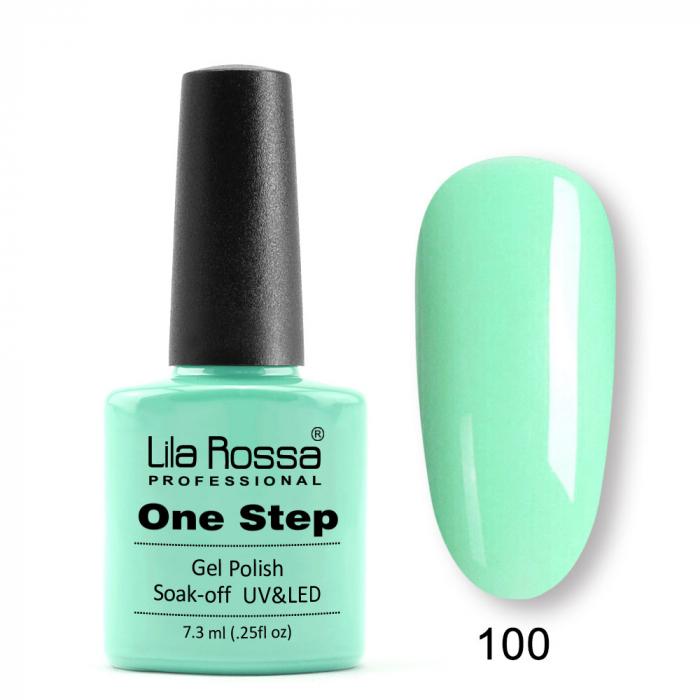 Oja semipermanenta Lila Rossa One Step 100 7.3 ml [0]