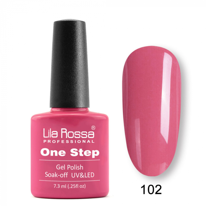 Oja semipermanenta Lila Rossa One Step 102 7.3 ml [0]