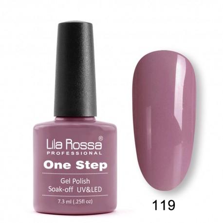 Oja semipermanenta Lila Rossa One Step 119 7.3 ml [0]