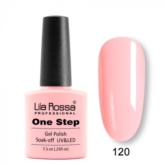 Oja semipermanenta Lila Rossa One Step 120 7.3 ml [0]