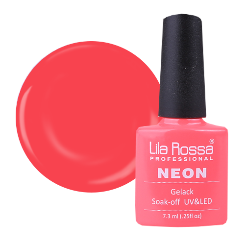 Oja semipermanenta Lila Rossa NEON 014 7.3 ml [1]
