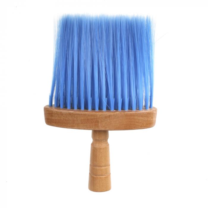 Pamatuf pentru frizerie, cu maner din lemn [0]