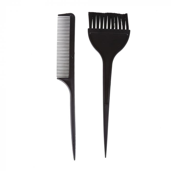 Set pensula pentru vopsit parul + pieptan [0]