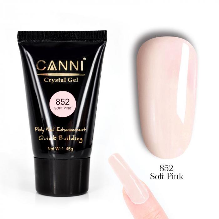 Polygel Canni 852 Soft Pink 45 g [0]