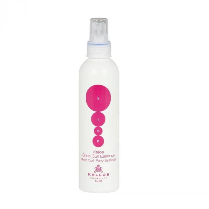 Spray pentru par cret si ondulat Kallos KJMN Shine Curl Essence 200 ml [0]