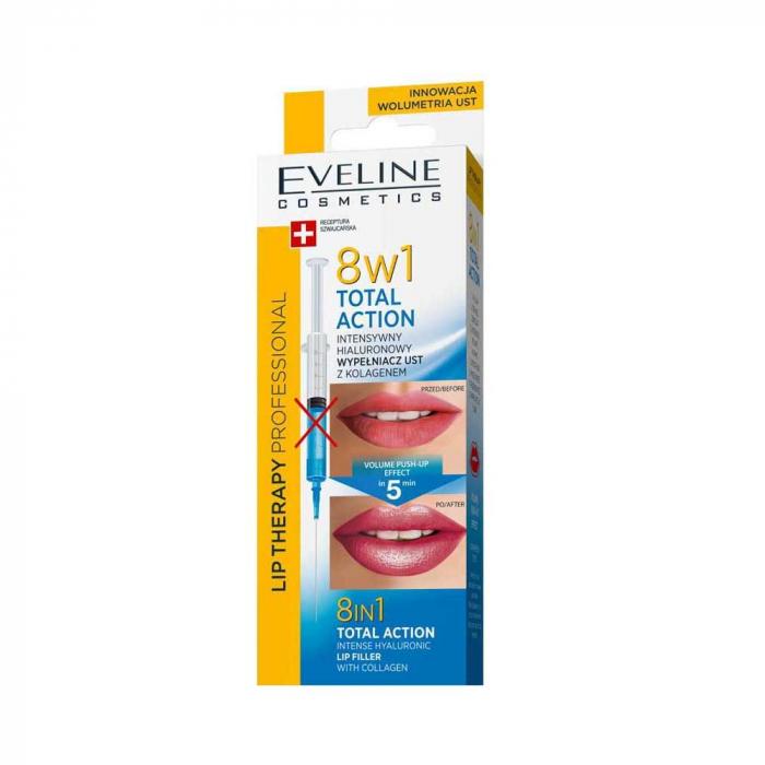 Tratament pentru volumul buzelor non-invaziv 8 in 1 Eveline Lip Therapy [0]