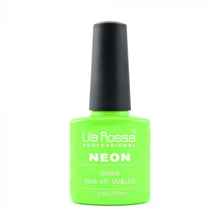 Oja semipermanenta Lila Rossa NEON 002 7.3 ml [0]
