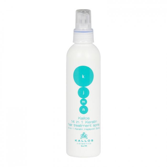 Spray de par protector cu cheratina 14 in 1 Kallos KJMN 200 ml [0]