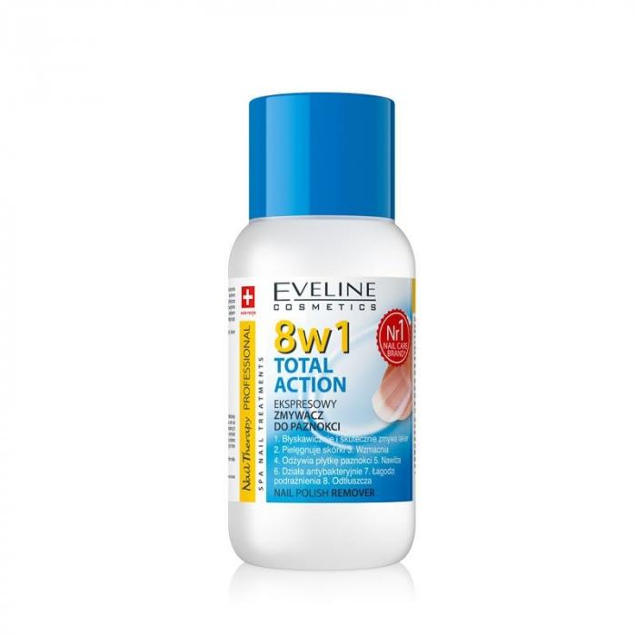 Dizolvant cu acetona Eveline 8 in 1 Total Action 150 ml [0]