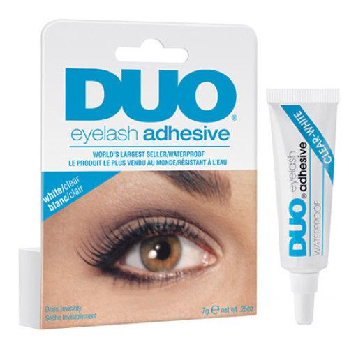 Adeziv gene transparent DUO clear - white 7 g [0]