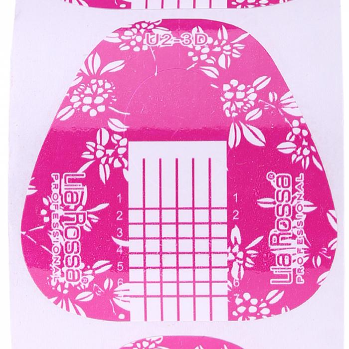 Sabloane constructie unghii Lila Rossa roz 500 buc. [1]