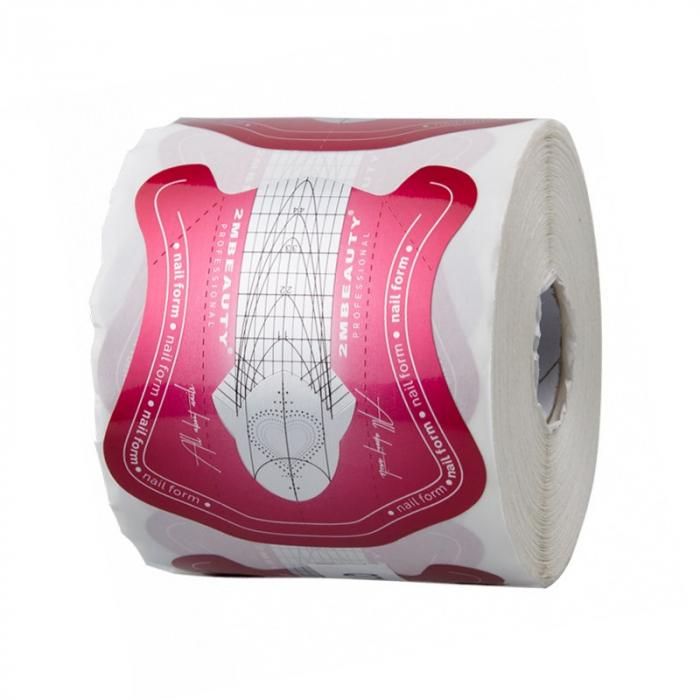 Sabloane constructie unghii 2M Beauty Red Heart [0]