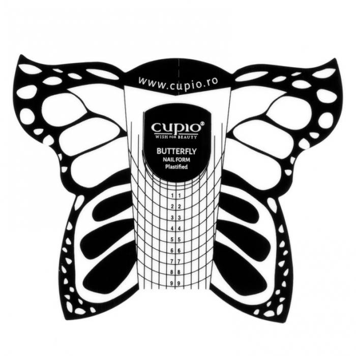 Sabloane constructie unghii Cupio negre 50 buc. [0]