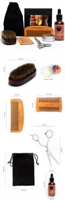 Set barber Yoshimoto Modern Gentleman ST057 [8]