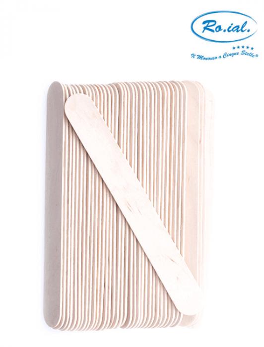 Spatula lata din lemn pentru intins ceara de epilat [1]