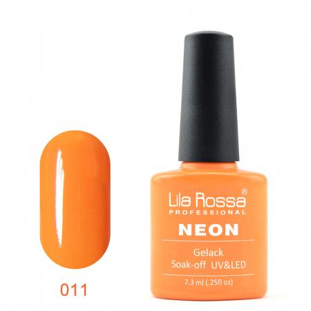 Oja semipermanenta Lila Rossa NEON 011 7.3 ml [0]