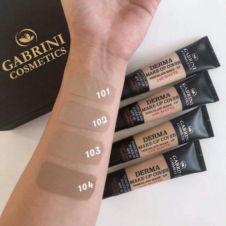 Fond de ten Gabrini Derma Matte Make-up Cover 24h SPF 15 40 ml [1]