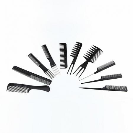 Set piepteni profesionali pentru frizerie sau coafor 10 buc. [1]