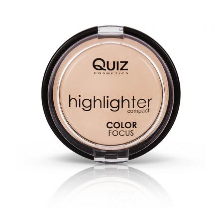 Pudra iluminatoare compacta Quiz Color Focus [0]