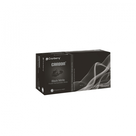 Manusi din nitril negre Cranberry Carbon [1]