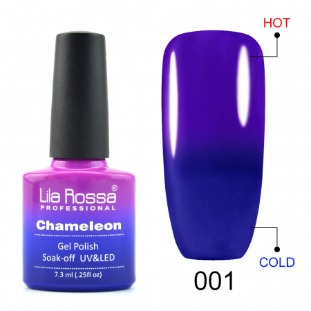 Oja semipermanenta Lila Rossa Chameleon 001 7.3 ml [0]
