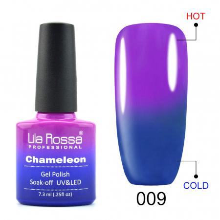 Oja semipermanenta Lila Rossa Chameleon 009 7.3 ml [0]