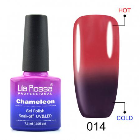Oja semipermanenta Lila Rossa Chameleon 014 7.3 ml [0]