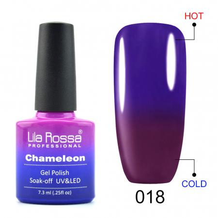 Oja semipermanenta Lila Rossa Chameleon 018 7.3 ml [0]