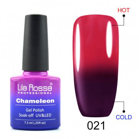Oja semipermanenta Lila Rossa Chameleon 021 7.3 ml [0]