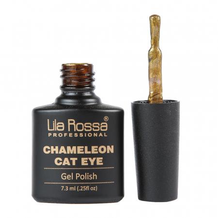 Oja semipermanenta Lila Rossa Chameleon Cat Eye 008 7.3 ml [1]