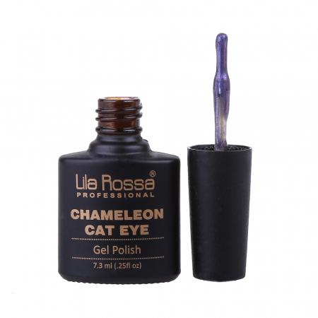 Oja semipermanenta Lila Rossa Chameleon Cat Eye 018 7.3 ml [1]
