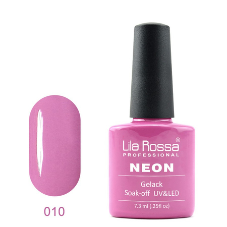 Oja semipermanenta Lila Rossa NEON 010 7.3 ml [0]