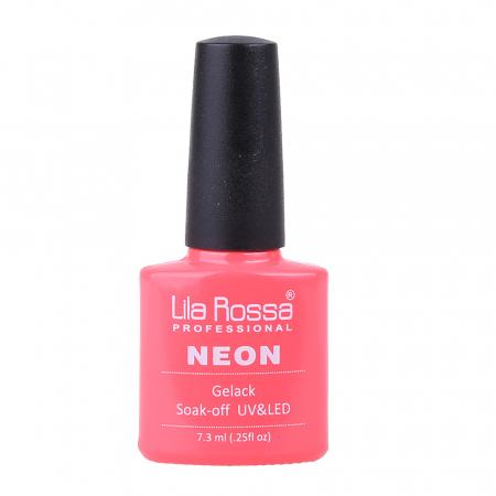 Oja semipermanenta Lila Rossa NEON 014 7.3 ml [0]