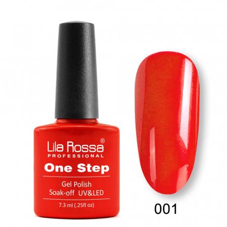 Oja semipermanenta Lila Rossa One Step 001 7.3 ml [0]