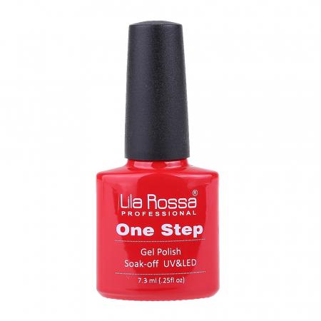 Oja semipermanenta Lila Rossa One Step 001 7.3 ml [3]