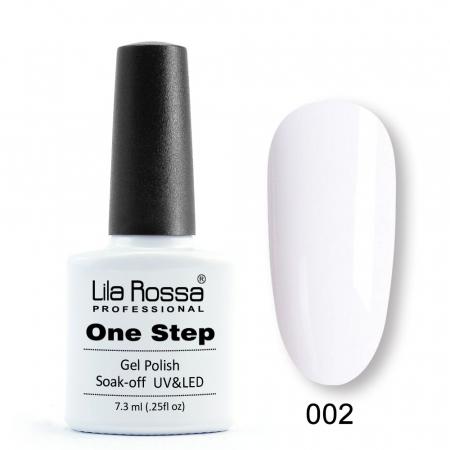 Oja semipermanenta Lila Rossa One Step 002 7.3 ml [0]