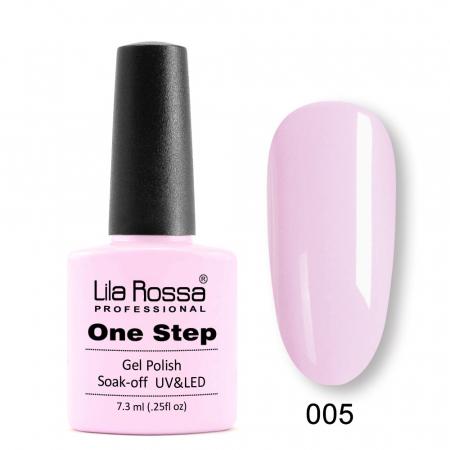 Oja semipermanenta Lila Rossa One Step 005 7.3 ml [0]