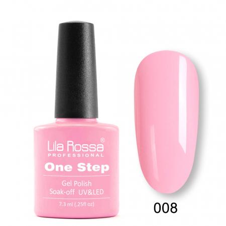 Oja semipermanenta Lila Rossa One Step 008 7.3 ml [0]
