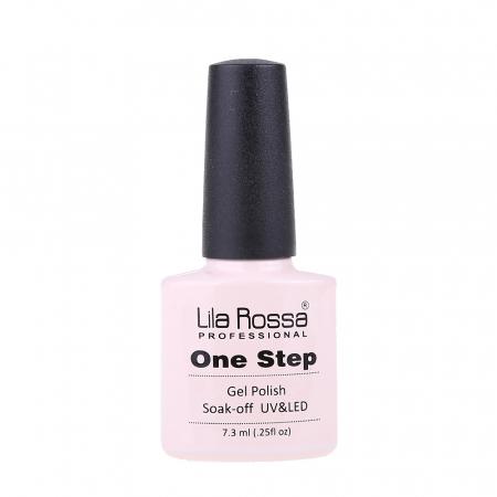 Oja semipermanenta Lila Rossa One Step 009 7.3 ml [3]