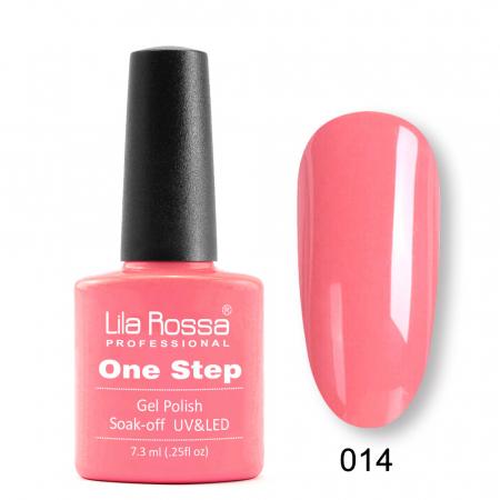 Oja semipermanenta Lila Rossa One Step 014 7.3 ml [0]