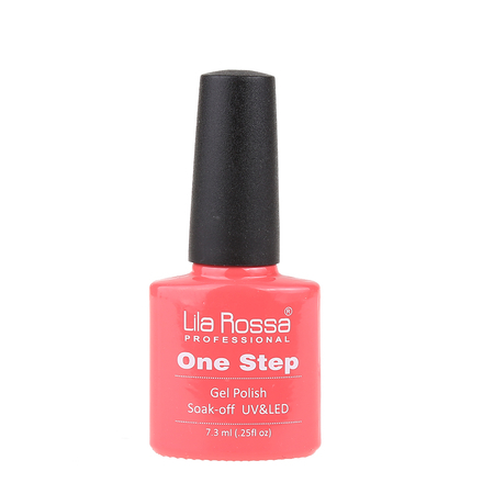 Oja semipermanenta Lila Rossa One Step 014 7.3 ml [3]