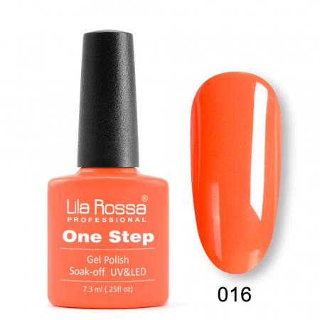 Oja semipermanenta Lila Rossa One Step 016 7.3 ml [0]