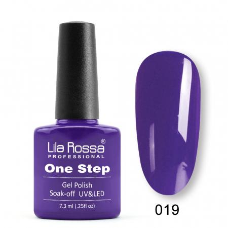 Oja semipermanenta Lila Rossa One Step 019 7.3 ml [0]
