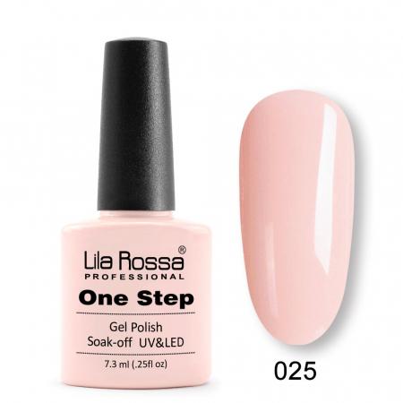 Oja semipermanenta Lila Rossa One Step 025 7.3 ml [0]