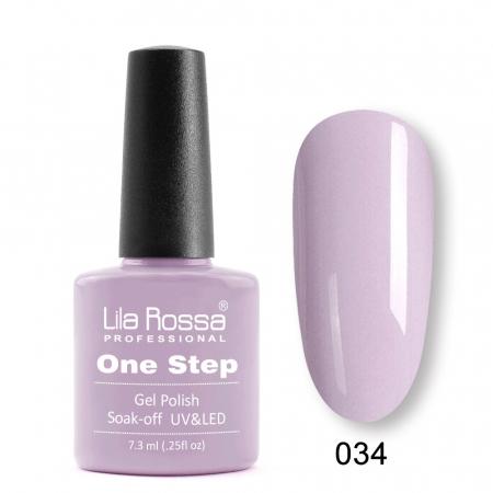 Oja semipermanenta Lila Rossa One Step 034 7.3 ml [0]