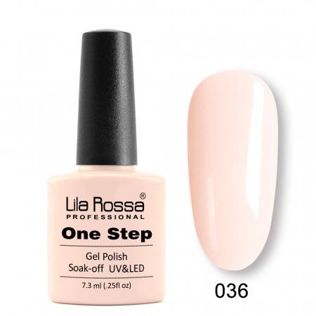 Oja semipermanenta Lila Rossa One Step 036 7.3 ml [0]