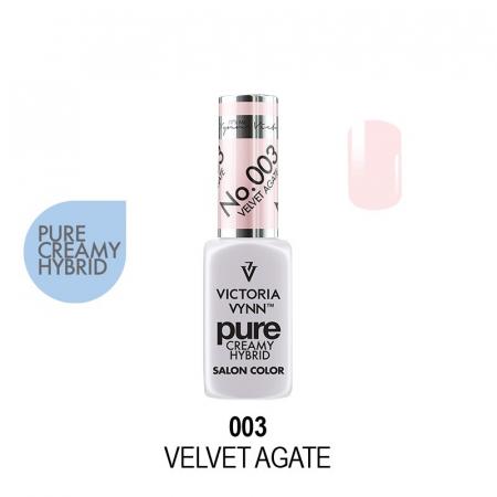 Oja semipermanenta Victoria Vynn Pure Creamy 003 Velvet Agate 8 ml