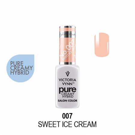 Oja semipermanenta Victoria Vynn Pure Creamy 007 Sweet Ice Cream 8 ml